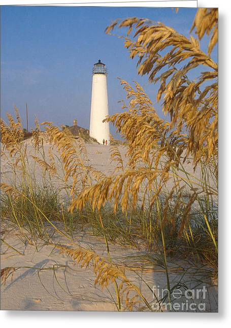 St. George Island Greeting Cards - Cape St. George Lighthouse, Fl Greeting Card by Bruce Roberts