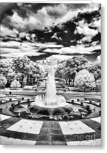 Pa Greeting Cards - Capital fountain Greeting Card by Paul W Faust -  Impressions of Light