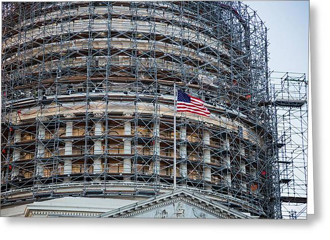 Capitol Building Greeting Card by Jim West