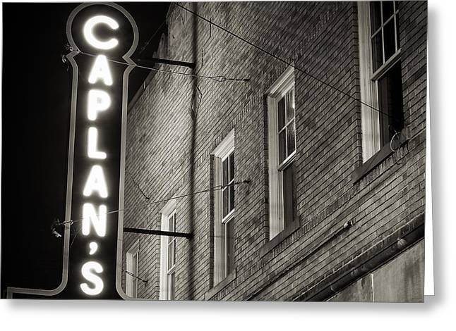 Town Square Greeting Cards - Caplans  Greeting Card by Geoffrey Baker