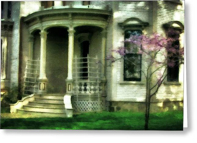 Italianate Greeting Cards - Cappon House Greeting Card by Michelle Calkins