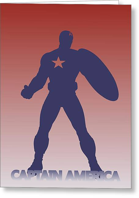 Black Widow Photographs Greeting Cards - Captain America 3 Greeting Card by Joe Hamilton
