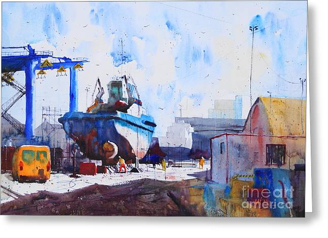 Lorient Greeting Cards - Captain Louis Thomas Greeting Card by Andre MEHU