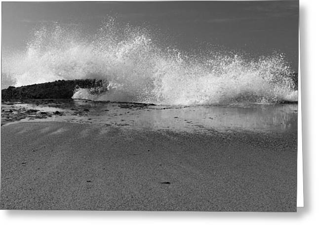 Ocean Art Photos Greeting Cards - Captivating In Black And White Greeting Card by Heidi Smith