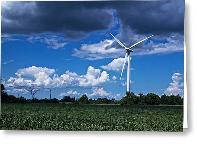 Recently Sold -  - Generators Greeting Cards - Capture the Wind Greeting Card by Dave Files