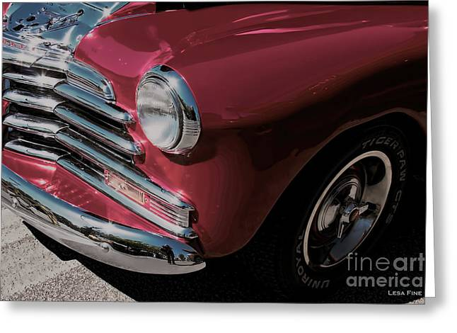 Vintage Cars Greeting Cards - Car Art 1948 2100 FK Fleetmaster Greeting Card by Lesa Fine