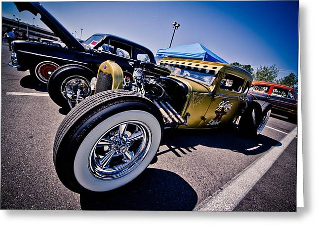 Car Candy Greeting Card by Merrick Imagery