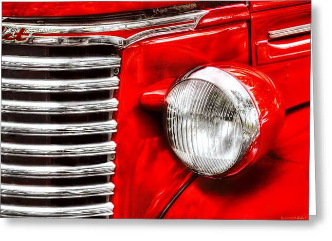 Car - Chevrolet Greeting Card by Mike Savad