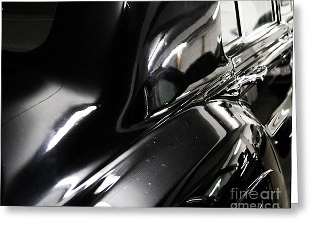 Figurs Greeting Cards - Car Fascination Greeting Card by Four Hands Art