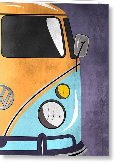 Beetle Greeting Cards - Car  Greeting Card by Mark Ashkenazi