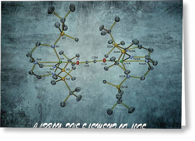 Neutron Greeting Cards - Carbon The Element Of Life Greeting Card by Dan Sproul