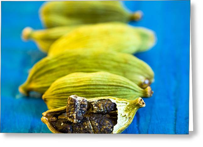 Kitchen Photos Greeting Cards - Cardamom Greeting Card by Frank Tschakert