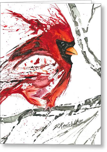 D Renee Wilson Greeting Cards - Cardinal Direction Greeting Card by D Renee Wilson