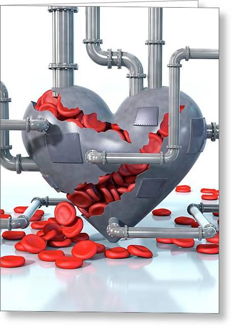Cardiovascular Disease Greeting Card by Animated Healthcare Ltd