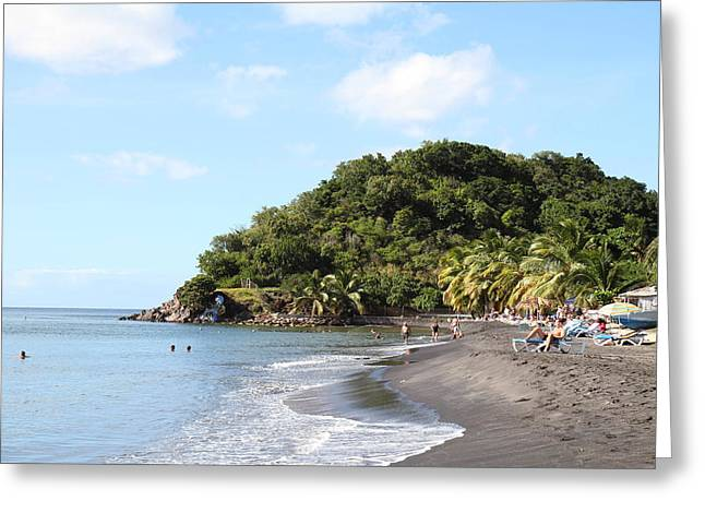 Cruise Greeting Cards - Caribbean Cruise - Dominica - 1212317 Greeting Card by DC Photographer