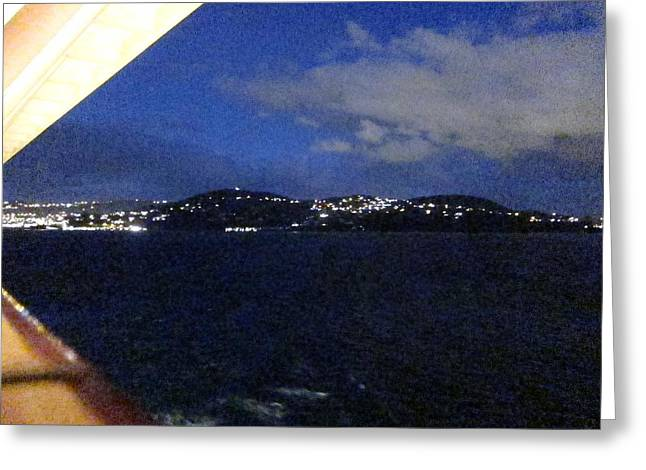 On Greeting Cards - Caribbean Cruise - On Board Ship - 1212133 Greeting Card by DC Photographer