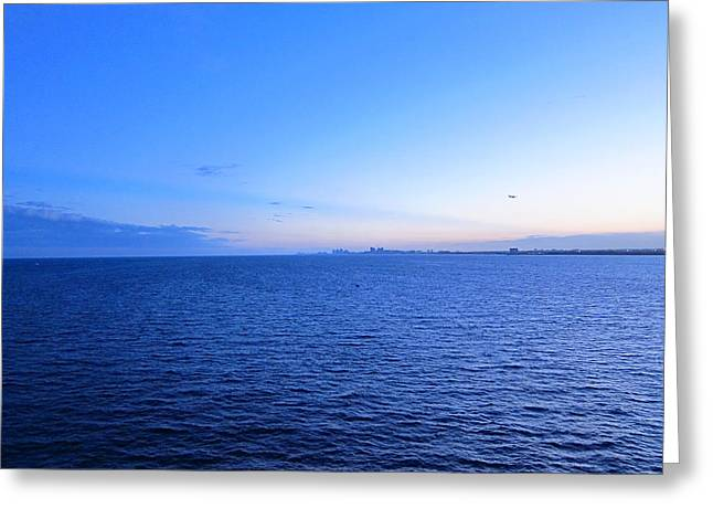 Cruise Greeting Cards - Caribbean Cruise - On Board Ship - 121220 Greeting Card by DC Photographer