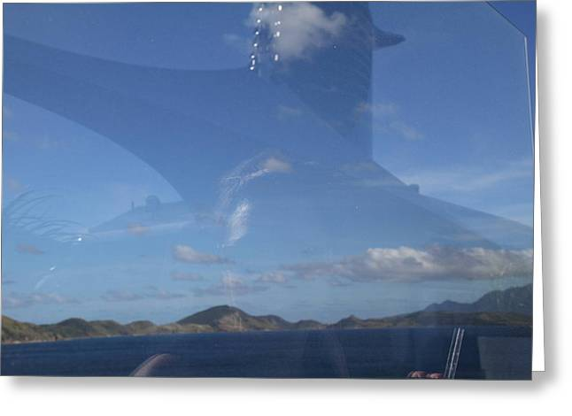 Caribbean Cruise - St Kitts - 1212109 Greeting Card by DC Photographer