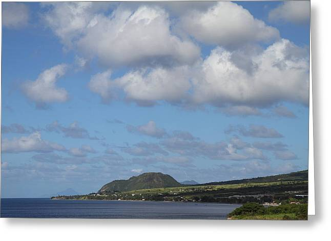 Caribbean Cruise - St Kitts - 1212156 Greeting Card by DC Photographer