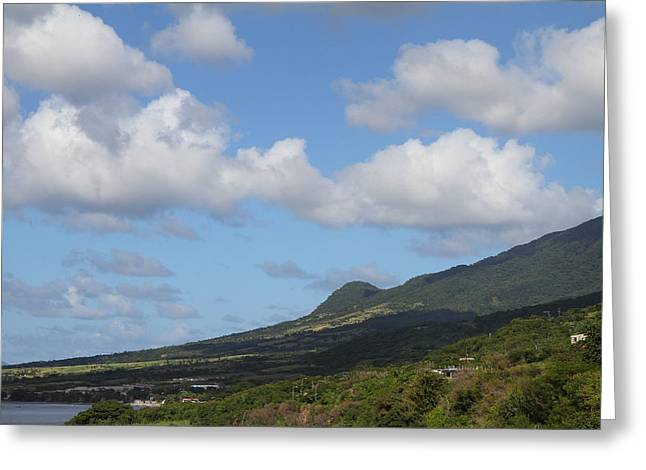 Caribbean Cruise - St Kitts - 1212157 Greeting Card by DC Photographer