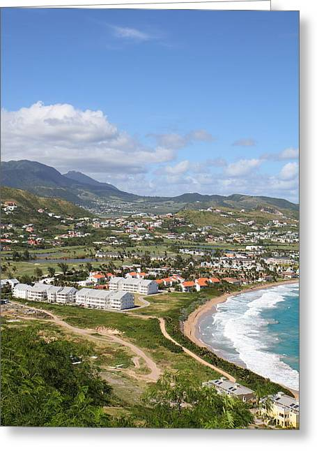 Caribbean Cruise - St Kitts - 121259 Greeting Card by DC Photographer