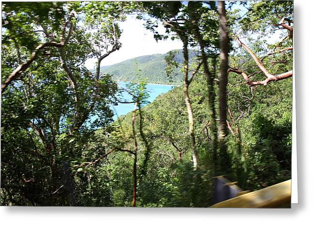 Saint Greeting Cards - Caribbean Cruise - St Thomas - 1212105 Greeting Card by DC Photographer