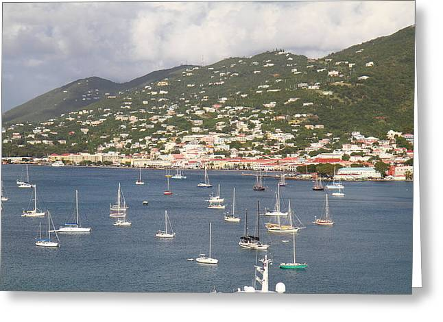 Caribbean Cruise - St Thomas - 121214 Greeting Card by DC Photographer