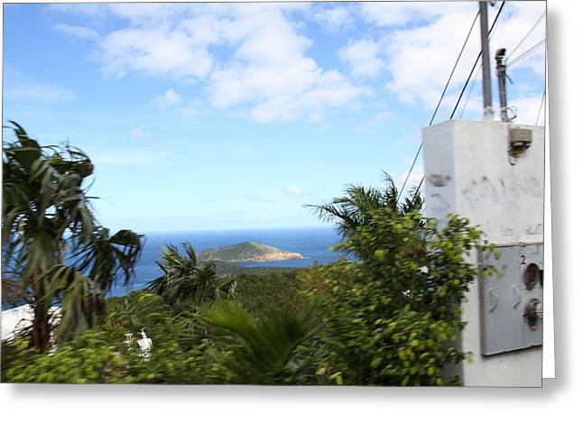 Caribbean Cruise - St Thomas - 1212181 Greeting Card by DC Photographer