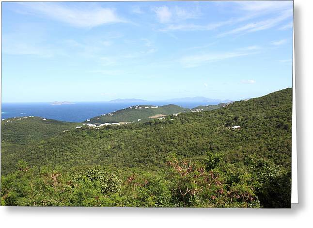 Cruise Greeting Cards - Caribbean Cruise - St Thomas - 1212237 Greeting Card by DC Photographer