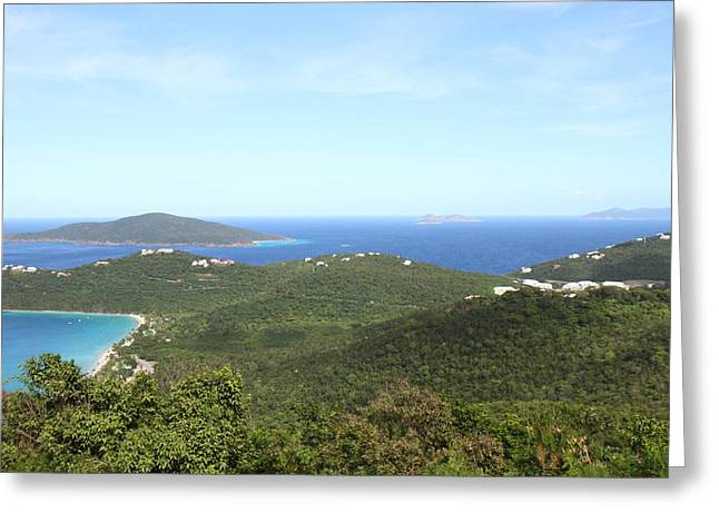 Islands Greeting Cards - Caribbean Cruise - St Thomas - 1212245 Greeting Card by DC Photographer