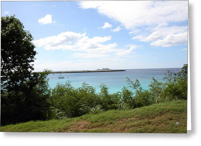 Caribbean Cruise - St Thomas - 121274 Greeting Card by DC Photographer