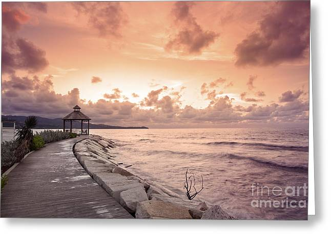 Montego Bay Greeting Cards - Caribbean Dream Greeting Card by Brandon Alms