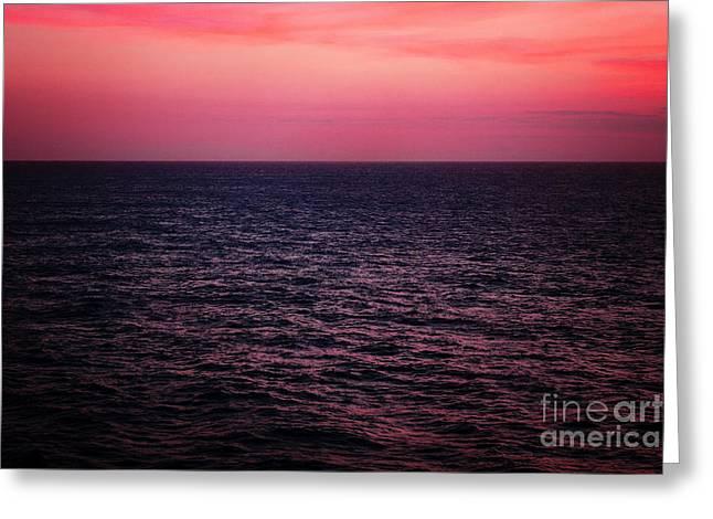 Caribbean Sunset Greeting Cards - Caribbean Sunset Greeting Card by Kim Fearheiley
