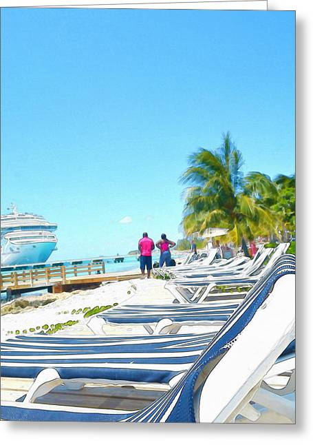 Caribbean Greeting Cards - Caribbean Vacation Greeting Card by Anton Joseph