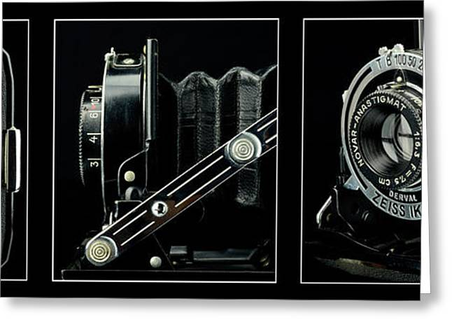 Reflex Greeting Cards - Carl Zeiss Ikon Nettar 515 I Greeting Card by Toppart Sweden