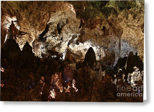 Carlsbad Caverns #2 Greeting Card by Kathy McClure