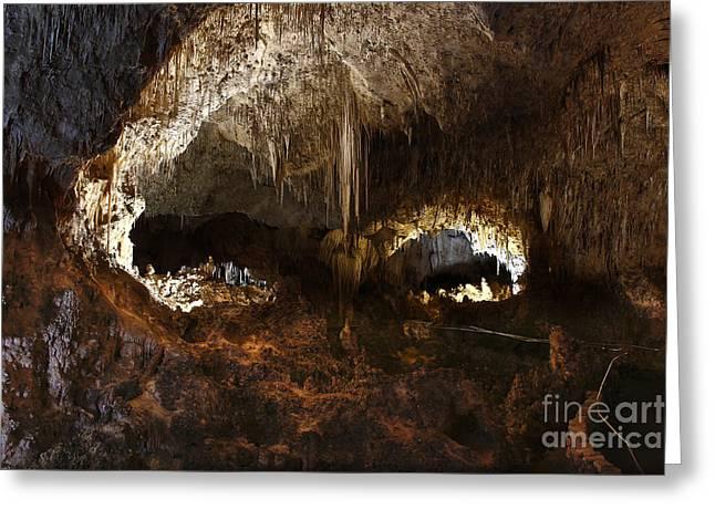 Carlsbad Caverns #3 Greeting Card by Kathy McClure