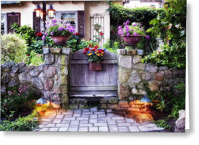 Outdoor Images Greeting Cards - Carmel 1 Greeting Card by Kurt Golgart