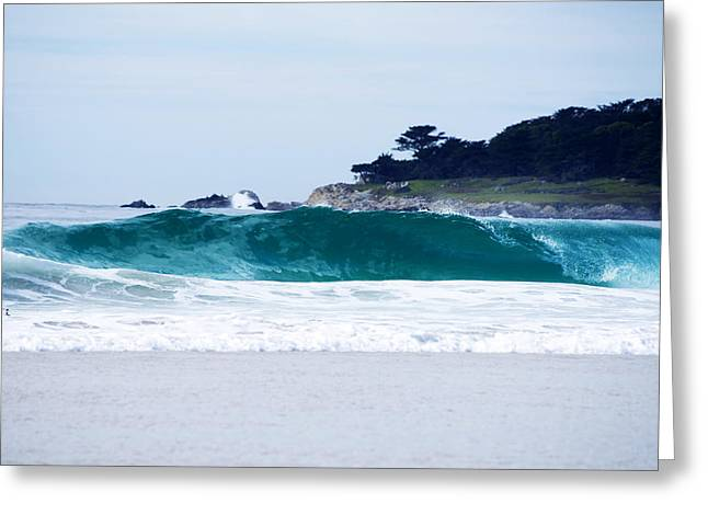 California Beach Greeting Cards - Carmel Jan 27 2015 16 Greeting Card by Christopher Koski