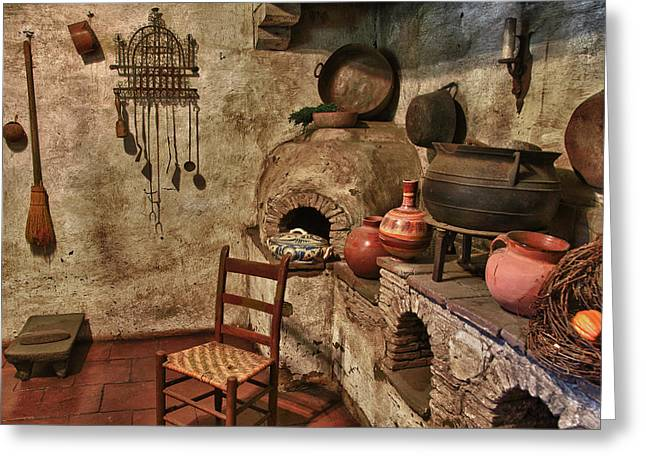 Catholic Mission Greeting Cards - Carmel Mission 8 Greeting Card by Ron White