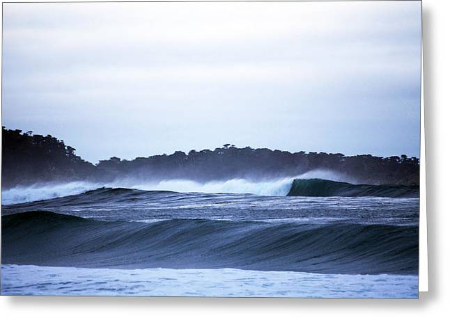 Water Flowing Greeting Cards - Carmel Point Greeting Card by Christopher Koski