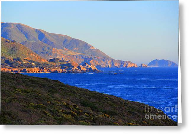 Coast Highway One Greeting Cards - Carmel to Big Sur Greeting Card by Dave Donaldson