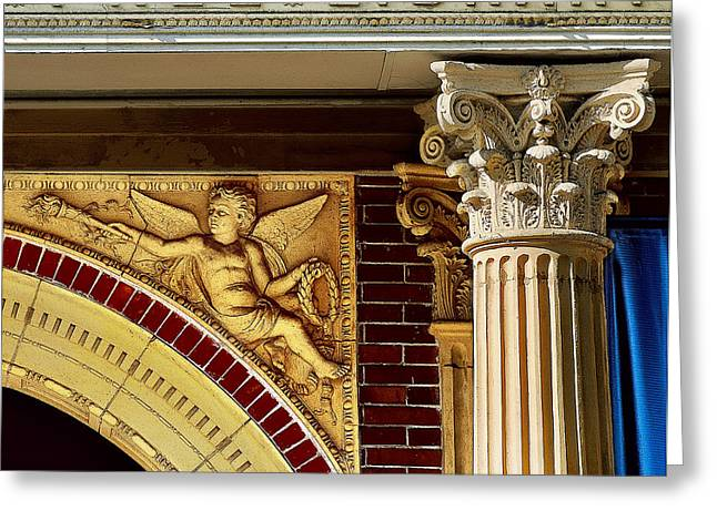 Carnegie Museum Greeting Cards - Carnegies Gift Greeting Card by Jon Exley