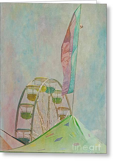 Amusement Ride Greeting Cards - Carnival 3 Greeting Card by Cindi Ressler
