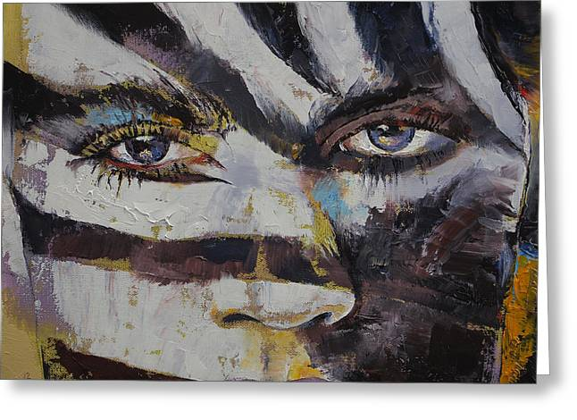 Primitives Greeting Cards - Carnival Greeting Card by Michael Creese