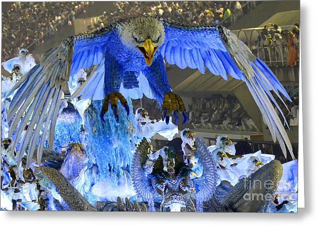 Carnival Dream Greeting Cards - Carnival Rio De Janeiro 11 Greeting Card by Bob Christopher