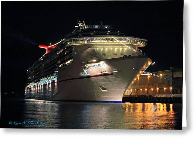 Carnival Spirit Greeting Cards - Carnival Spirit Greeting Card by Karon Melillo DeVega