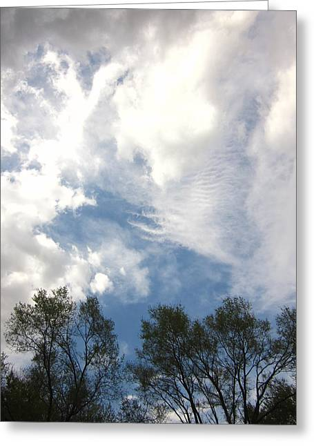 Guy Ricketts Photography Greeting Cards - Carnivals Of Clouds Greeting Card by Guy Ricketts