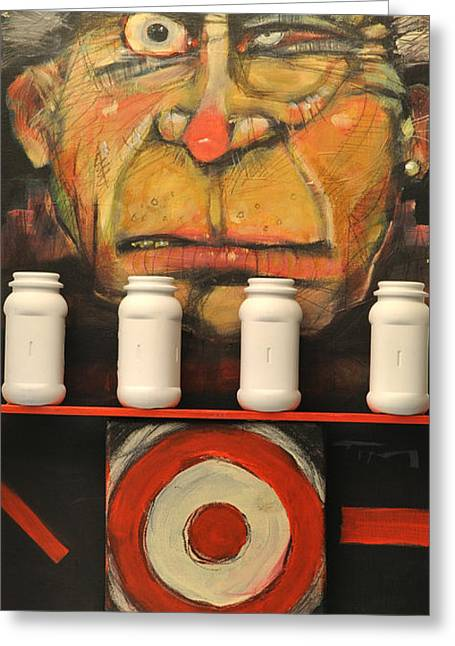 Carnie Greeting Cards - Carny Greeting Card by Tim Nyberg