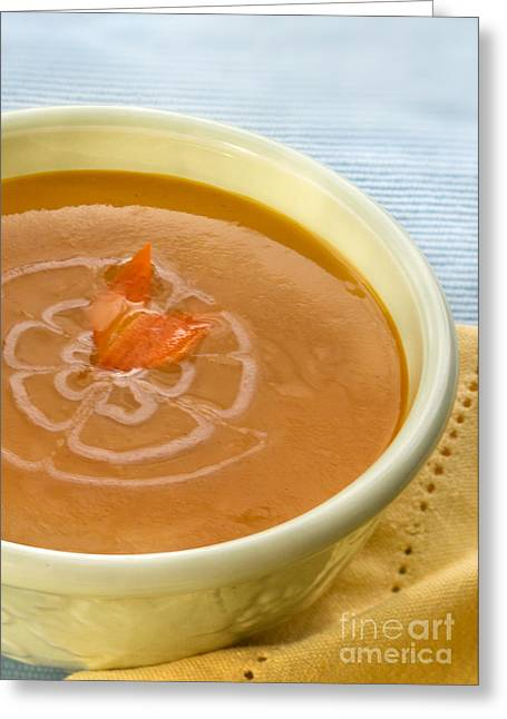 Quality Greeting Cards - Carottgingersoup Greeting Card by Iris Richardson